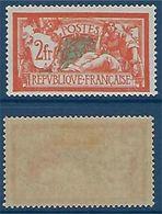 "FR YT 145 "" Merson 2F Orange "" 1907 Neuf* - 1900-02 Mouchon"