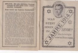 ALLEMAGNE  CATALOGUE DE COMMANDE ASTROLOGIE 1914 PAR CLAY BURTON VANCE - Livres, BD, Revues