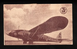 Air France Faucett Lan Chile Potez 62 Peru 1937 Airmail Postcard Airline Issue - 1919-1938: Entre Guerres