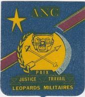 BELGIUM - BELGIQUE - BLAZOEN / ECUSSON / ANC - LEOPOARDS MILITAIRES - Blazoenen (textiel)