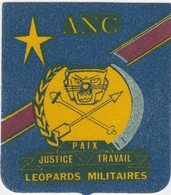 BELGIUM - BELGIQUE - BLAZOEN / ECUSSON / ANC - LEOPOARDS MILITAIRES - Stoffabzeichen