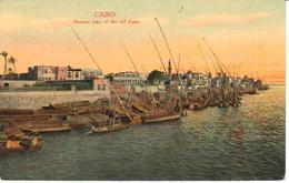 POSTAL    -EL CAIRO -EGYPTO  - GENERAL VIEW OF THE OLD CAIRO - El Cairo