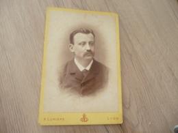 Photo Originale  Grand Format CDV A.Lumière Lyon Germain Pradel 1882 Au Dos - Personnes Identifiées