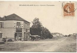 44  THARON  EPICERIE  THARONNAISE     (  Voiture  Ancienne  +attelage ) - Tharon-Plage