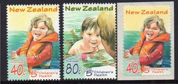 NEW ZEALAND, 1998 HEALTH/WATER SPORTS 3 MNH - Nuevos