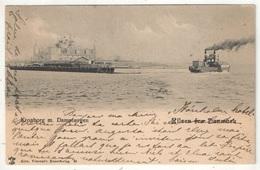 Hilsen Fra Danmark - Kronborg M. Dampfaergen - 1902 - Dänemark