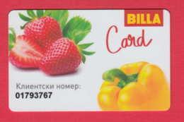 D936 / BILLA CARD - SOFIA -  Member Card , Bulgaria Bulgarie Bulgarien Bulgarije - Other Collections