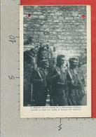 CARTOLINA NV ITALIA - CESARE BATTISTI Con Scorta E Cappellano Militare - Ed. Fot. Sergio Perdomi TRENTO - 9 X 14 - Personaggi