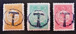 TIMBRES-TAXE - TAMPON LOCAL MANUEL - HYPER-RARES !!! - 1858-1921 Empire Ottoman