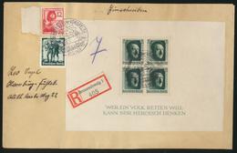 Auto D. Reich Brief Block 7 Seltener SST Rothenfelde Vorsfelde Volkswagen 200,00 - Ohne Zuordnung