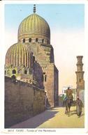 POSTAL    -EL CAIRO -EGYPTO  - TOMBS OF THE MAMELOUKS - El Cairo