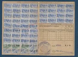 Fiscaux D' Alsace Lorraine Sur Document - Fiscaux