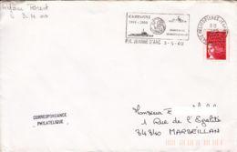 FRANCE - 2000 - Porte-Hélicoptères Jeanne D'Arc -  Campagne 1999-2000 - Retour à Brest - France