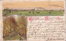 ALLEMAGNE 1898 CARTE POSTALE GRUSS AUS VAREL - Varel