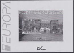 2018 - XX - Bruggen // Ponts -  (EUROPA) - Feuillets Noir & Blanc