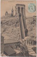 13 Marseille  Ascenseur De Notre Dame De La Garde - Notre-Dame De La Garde, Lift