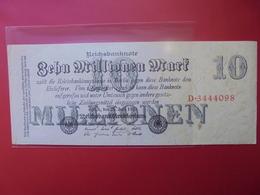Reichsbanknote 10 MILLIONEN MARK 1923 - [ 3] 1918-1933: Weimarrepubliek