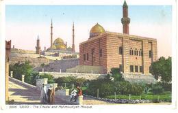 POSTAL    -EL CAIRO -EGYPTO  - THE CITADEL AND MAHMOUDIYEH MOSQUE - El Cairo