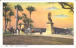 POSTAL    -EL CAIRO -EGYPTO  - KASR EL NILE BRIDGE - El Cairo