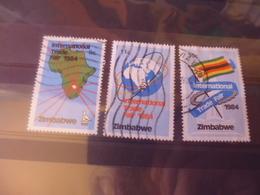 ZIMBABWE YVERT N°60.62 - Zimbabwe (1980-...)