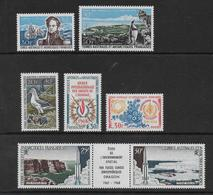 TAAF - ANNEE COMPLETE 1968 * MLH AVEC POSTE AERIENNE - COTE = 1280 EUROS - - Full Years
