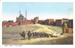 POSTAL    -EL CAIRO -EGYPTO  - THE CITADEL - El Cairo