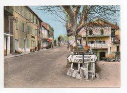 - CPSM LA BRILLANNE (04) - Le Carrefour Et La Route Nationale (HOTEL RESTAURANT) - Editions Du Sud-Est 139 - - Sonstige Gemeinden