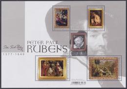 2018 - Bl 262 - Meesterlijke Schilders : Rubens 2018 / Maîtres De La Peinture : Rubens 2018 - XX - Blocs 1962-....