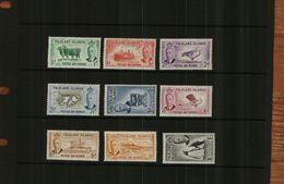 FALKLAND ISLANDS - KGVI - 1952- 9 Stamps - MM - Falklandeilanden