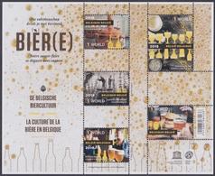 2018 - Bl 260 - De Belgische Biercultuur / La Culture De La Bière Belge - XX - Blocks & Kleinbögen 1962-....