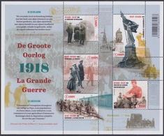 """2018 - De Groote Oorlog – Deel  5  """"De Bevrijding"""" / La Grande Guerre – Partie  5  """"la Libération"""" - XX - Blocs 1962-...."""