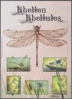 2018 - Libellen - Buzin / Libellules - Buzin - XX - Blocs 1962-....