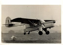 AUSTER   B4 AMBULANCE/ FREIGHTER  16 * 12 CM Auster Aircraft Limited Was A British Aircraft Manufacture - Aviación