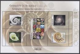 2018 - Geometrie In De Natuur – De Spiraalvorm / La Géometrie Dans La Nature – La Forme Spirale - XX - Blocs 1962-....