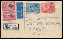 BC - Ghana. 1958. Berekum - UK. Air Registr Multifkd Env Mixed Issues. - Unclassified