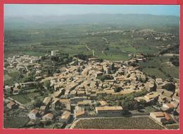 CPM*34-PUISSALICON - Ann.70- Vue Générale AÉRIENNE *SUP *2 SCANS - Autres Communes