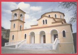 CPM*34-LE BOUSQUET D'ORB- Monastère Orthodoxe -ST-NICOLAS De LA DALMERIE- Le Catholicon*SUP *2 SCANS - France