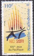 Nouvelle Calédonie XIVe Jeux Du Pacifique En Septembre 2011 Logo  N°1060  Oblitérés - Usados
