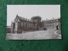 VINTAGE IRELAND: Dublin Castle And Chapel Royal B&w Signal - Dublin