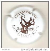 CAPSULE DE MUSELET CHAMPAGNE GUY LAMOUREUX (MARRON SUR BLANC)) - Champagne