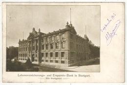 STUTTGART - Lebensversicherungs Und Ersparnis Bank - 1903 - Stuttgart