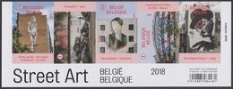 2018 - 4770/4774 - Street Art In Beeld / Zoom Sur Le Street Art - XX - België
