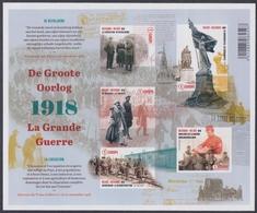 "2018 - De Groote Oorlog – Deel  5  ""De Bevrijding"" / La Grande Guerre – Partie  5  ""la Libération"" - XX - Belgique"
