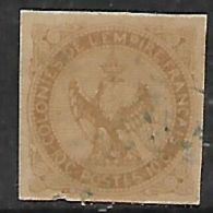 France Colonies, 1859, 10 Cents, Used - Eagle And Crown