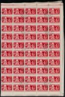 O 1949 Lánchíd Hajtott Teljes ívsor (100.000) - Timbres