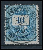 O 1879 Bosznia Előfutár Színesszámú 10kr 'K.u.K. ETAPPEN-POSTAMT No XXIX' (70.000) - Timbres