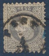 O 1867 25kr 'PEST' (65.000) (rövid Fogak / Short Perfs.) - Timbres