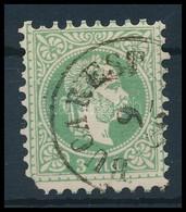 O Magyar Posta Romániában 1867 3sld 'BUCAREST' Hiányzó Sarokfog / Missing Corner (66.000) - Timbres