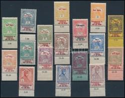 ** 1914 Hadisegély (I.) Sor, Javarészt ívszéli Bélyegek (60.000) - Timbres