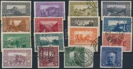 O Bosznia Hercegovina 1906 Vágott Sor MBA 29-44 (50.000) - Timbres